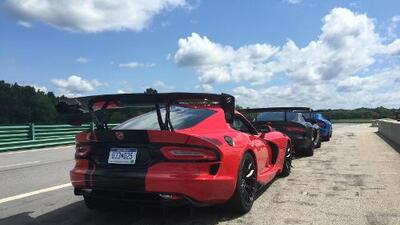 Onboard Dodge Viper SRT ACR 2016