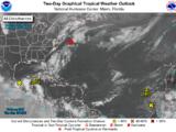 Tormenta tropical Bill gana fuerza en el Atlántico
