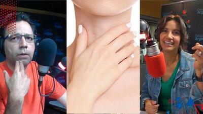 Un pacto de amor: Omar dejaría la radio (por una semana) si Argelia deja el programa para cuidar su voz