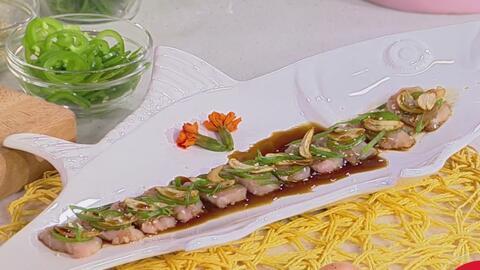 Directo desde Perú, te preparamos un delicioso tiradito de Hamachi