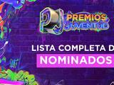 Lista completa de nominados a Premios Juventud 2021