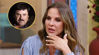 Kate del Castillo confiesa que aún se pone nerviosa cuando le preguntan de su relación con 'El Chapo'