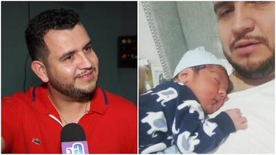 Te derretirás de ternura al escuchar a Edén Muñoz, de Calibre 50, relatar cómo vio nacer a su bebé