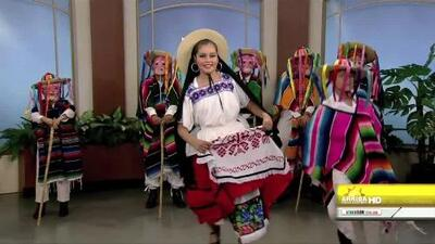 Ballet Folklorico Nunutsi en Arriba Valle Central