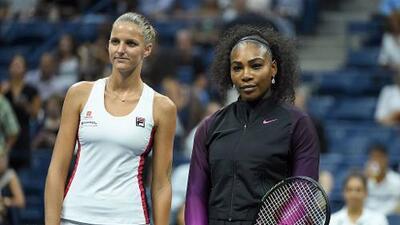 Karolina Pliskova eliminó a Serena Williams en el US Open y selló su pase a la final