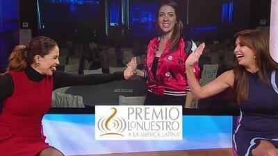 Karla ya sabe junto a quién quiere sentarse en Premio Lo Nuestro (y Giselle con quién quiere bailar)