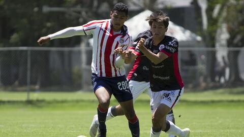 De la mano de sus 'mayores', Chivas derrotó a Lobos en la categoría Sub 20