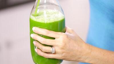 La receta del famoso jugo verde de Cecilia Ramírez Harris