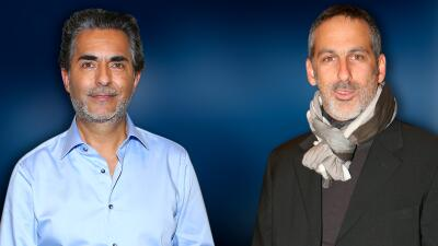 Raúl Araiza enfreta un reto para besar a Julio Bracho en la serie 'Alma de ángel'