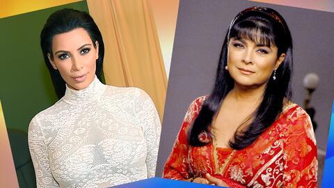 A Kim Kardashian le apareció una doble en Brasil, y Victoria Ruffo demostró ser toda una dama