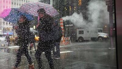 Cielo nublado y probabilidad de lluvia, el pronóstico para este viernes en Nueva York