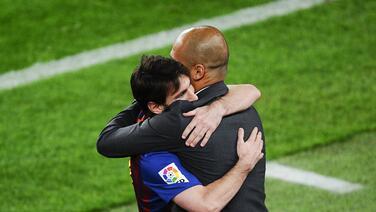 Multimillonario quiere juntar a Messi y Guardiola en el Milan