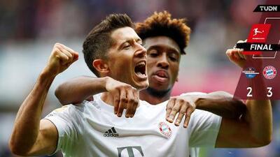 Gracias a sus individualidades, Bayern ganó y es líder