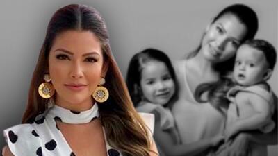 La tierna sesión de fotos de Ana Patricia con sus hijos que robó corazones (de sus seguidores y amigos famosos)