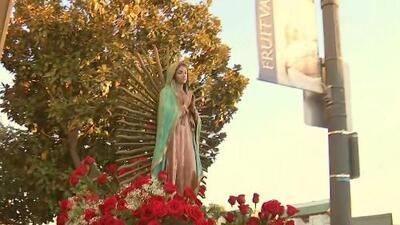 Mariachis, bandas y convivios: Así celebran a la Virgen de Guadalupe en la Bahía