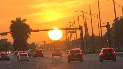Así fue la última puesta del sol del verano en Miami