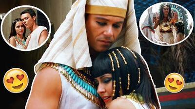 José y Azenate, una historia de amor que venció barreras