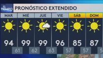 Se avecina una semana con temperaturas sobre los 90 grados