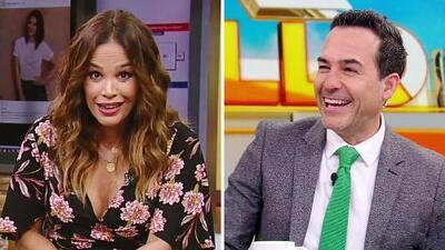 DAEnUnMinuto: Karla recuerda cómo lucía después de dar a luz, y así reacciona Carlos ante el piropo de una fan