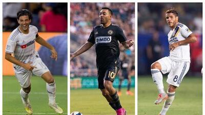 Vela, Fabián y Jonathan: fin de semana con absoluto protagonismo para mexicanos en MLS