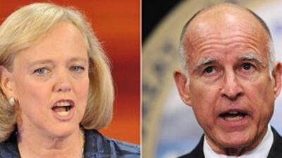 Whitman y Brown debaten hoy sábado en Univision: Imperdible