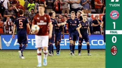 Bayern Múnich doblegó por la mínima al Milan con gol de Goretzka