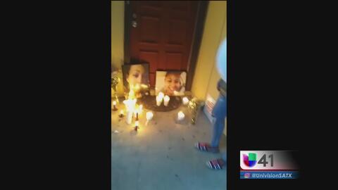 Vigilia en honor a una joven asesinada por su pareja