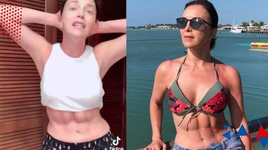 """""""Parece Batman"""": Laura Flores presume su 'six pack' en Instagram y le llueven críticas"""