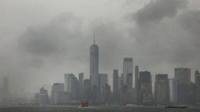 A Nueva York le esperan lluvias y tormentas durante la madrugada de este lunes y mucha nubosidad