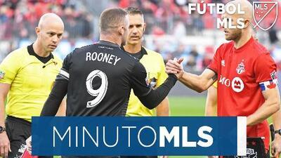 Minuto MLS: Wayne Rooney se despidió dejando su huella en América del Norte