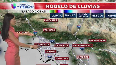 Ventana al Tiempo: Cielos mayormente nublados y posibilidad de lloviznas este sábado en Los Ángeles
