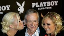 Hugh Hefner, el playboy que fundó un imperio rodeado de bellas mujeres