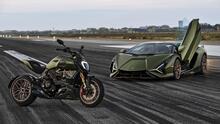 Ducati 1260 Diavel Lamborghini 2021, la combinación de dos de las mejores marcas italianas