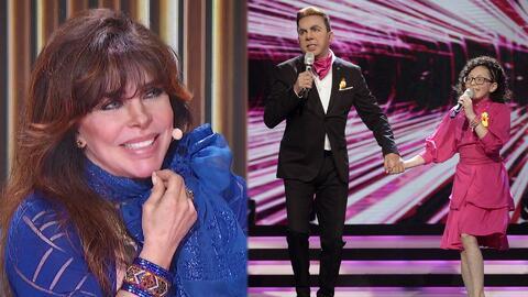 """""""Hoy me hicieron el programa a mí"""": Verónica Castro después de escuchar 'Lloviendo estrellas'"""