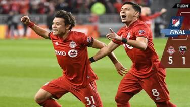 ¡Good bye, Wayne! Toronto despidió a Rooney goleando al DC United en tiempo extra