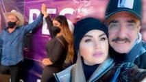 No todo es amor, Vicente Fernández Jr. y su novia incursionan en la política