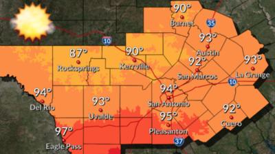 Se esperan temperaturas cálidas para este fin de semana