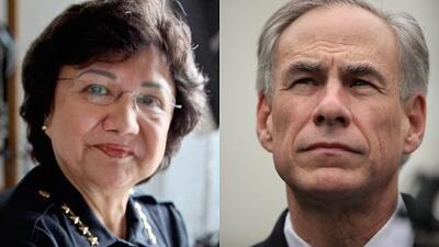 Lupe Valdez y Greg Abbott se encuentran esta noche en el único debate por la gobernación de Texas