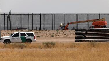 Biden enfrentará difíciles decisiones sobre el muro fronterizo entre México y Texas