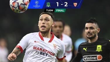 Sevilla clasifica a Octavos de Final de la Champions League