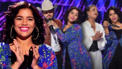 Barbara Toledo, la concursante que logró que Olga Tañón y Joss Favela subieran al escenario a cantar
