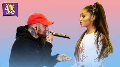 """Ariana Grande y Mac Miller: así fue su """"tóxica"""" historia de amor"""