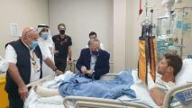 Grosjean agradece apoyo tras accidente en Bahrein
