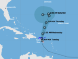 Live: Stay up to date with the path of tropical storm Karen
