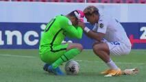¡Ejemplar! Futbolista de Honduras consuela al portero del Team USA