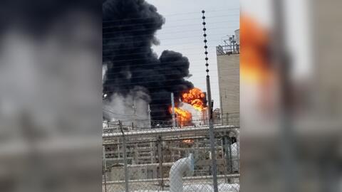Se registra un incendio en una planta de Exxon Mobil en Baytown