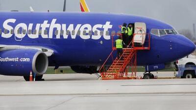 Aerolínea Southwest canceló 48 vuelos en todo EEUU para realizar inspección de los aviones