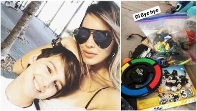 Shannon de Lima y su hijo donarán algunos juguetes y la elección fue un poco complicada