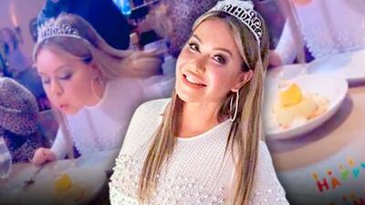 Cual despedida de soltera, Chiquis Rivera celebra su cumpleaños por adelantado en Las Vegas