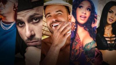 Los 6 artistas latinos más populares del verano en YouTube